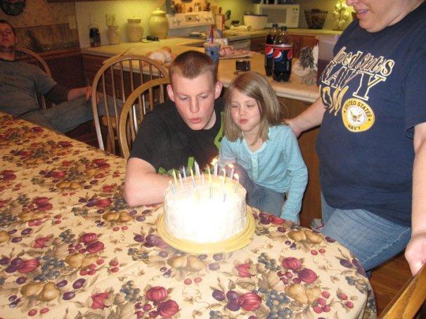 Izzy's 21st birthday