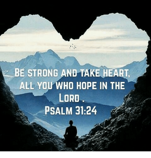 all who hope in the lord
